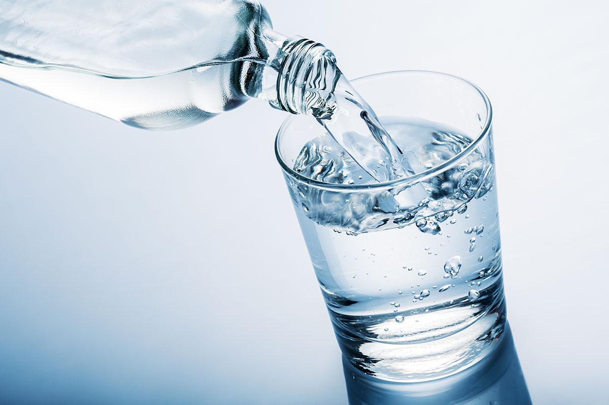 Krystalicznie czysta woda z Bystrej
